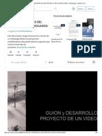 PDF de Guion y Desarrollo de Videojuego Desde Scribd