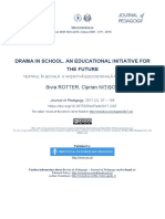 Drama in School an Educational Initiative for the