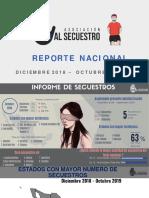 Informe Nacional Alto al Secuestro- OCTUBRE-2019
