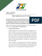 TCBC - Thang Vang Khuyen Mai Cua FPT Telecom (7 9 2010)
