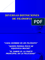 3-Diversas Difiniciones de Filosofia d