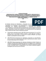 Pliego 2019 SINTRACAM Radicado Ante Ministerio