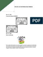Evoluciòn de de Los Sistemas Multimedia