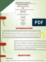 Operaciones Nectar de Piña y Durazno