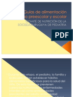Guías de alimentación escolares uruguay
