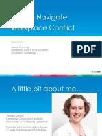 Navigate Workplace Conflict Slides
