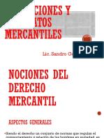 Obligaciones y Contratos Mercantiles