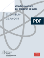 Sovfracht Indictment and Oil Jet Fuel Transfer to Syria, August 08, 2019