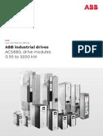 ACS880 Drive Modules Catalog 3AUA0000115038 en Rev K
