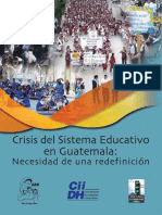 Crisis Educativa
