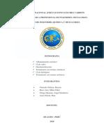 Desmineralización Del Agua. y Tra Con Resinas Cationicasdocx