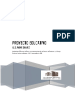 6- Proyecto Educativo Suárez PORTADA-2018-19
