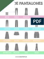 Tipos de Pantalones Skarlett