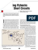 Protecting Fly Backs Against Short Circuits