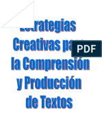 Estrategias Creativas para la Comprensión y Producción de Textos