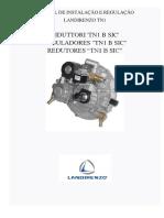 Manual de Instalação e Regulação Redutor Landirenzo Tn1 Portugues