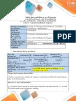 Guía de Actividades y Rúbrica de Evaluación - Fase 4 - Ejecución Idea de Negocio