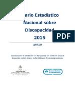 Discapacidad- Anuario-2015