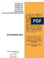 Catalogue de formations TerraConnect 2011