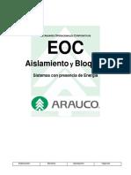 EOC Aislamiento y Bloqueo V1