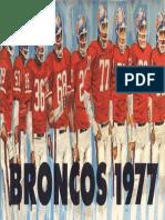 1977 Broncos