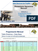 Planeamiento Semana 2 - Programación T.dinamica