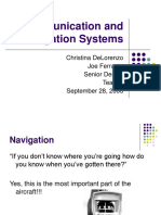 Communication Navigation Sys