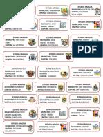 Municipios de Aragua - Escuedos