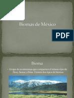 Bioma de Mexico Porfirio Garcia Juarez
