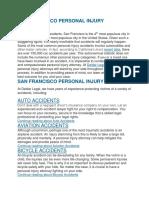 San Francisco Personal Injury Attorney.docx