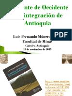 El puente de Occidente y la integración de Antioquia Cátedra Antioquia.pptx
