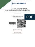 Registration Confirmation Veronica