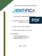 Politicas Publicas Trabajo Final