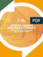 ¿Cómo vamos en Lima y Callao? Noveno Informe de Indicadores sobre Calidad de Vida