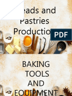 Breads and pastries production