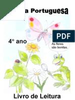 Livro de Leitura - silabação 4.º ano