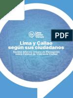 Lima y Callao según sus ciudadanos
