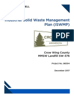 Industrial Solid Waste Management Minnesota 2017