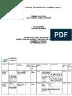 Actividad-matriz Detergentes y Desinfectante
