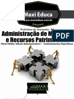 Livro Administração Materiais e Recursos Patrimoniais