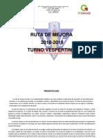 Programa Escolar de Mejora Continua Vespertino 2019-2020
