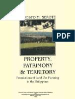Property, Patrimony and Territory.pdf