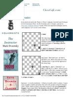Clases de Ajedrez Dvoretsky52