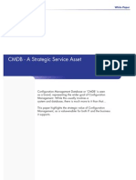 CMDB - A Strategic Service Asset