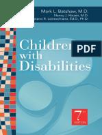 Children With Disabilities Batshaw 7th Ed
