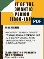 Arts of Romantic Painting (Portraits/Figures)