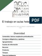 El Trabajoaulasheterogéneas2014
