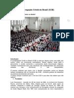 Congregação Cristã Do Brasil