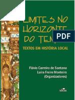 Limites no Horizonte do tempo - Textos em História local