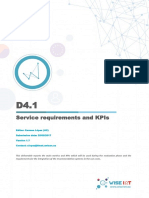 D4.1 Service Requirements and KPIs v1.7